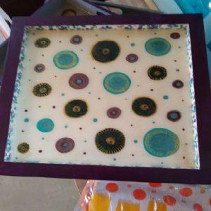 plateau violet 30 x 30